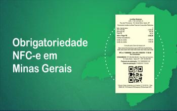 NFC-e: Confirmada Obrigatoriedade em Minas Gerais